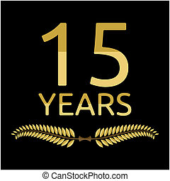 laurel wreath 15 years