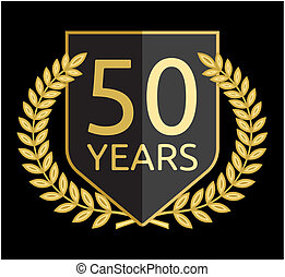 laurel wreath 50 years