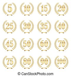 laurel wreath collection for jubilee - collection of laurel ...