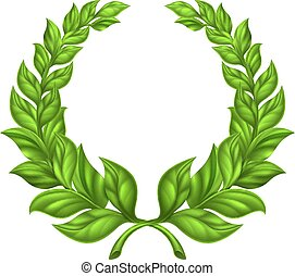 Laurel Wreath Design