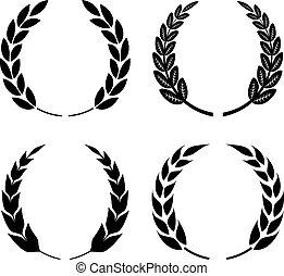 Laurel wreath icon