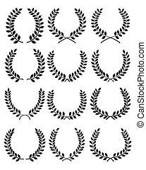 laurel wreaths 2