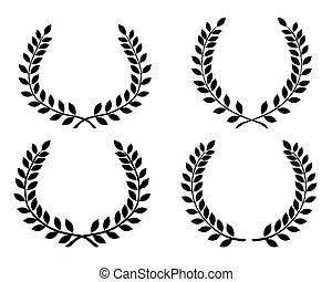 Laurel wreaths 4