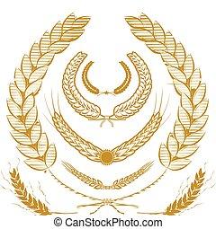 laurels, blé