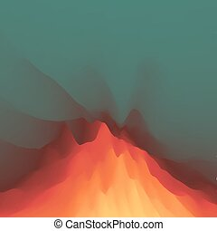 Lava. Abstract background. Modern pattern. Vector...