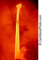 Lava Fall