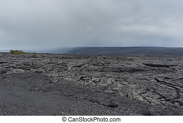 Lava Field on Big Island of Hawaii