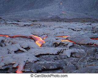 Lava Flow Kilauea