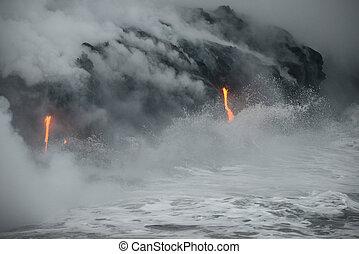 Lava in Hawaii
