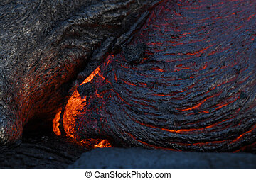 lava surface flow