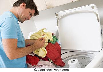 lavadero, hombre