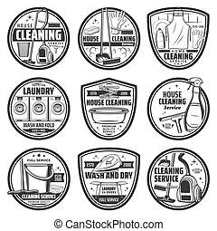 lavado, servicio, lavadero, limpieza