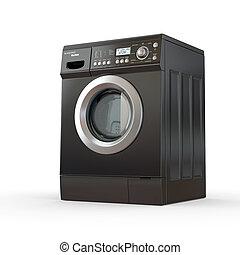 lavadora, cerrado