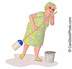 lavagem mola