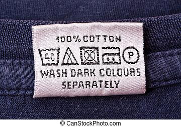 lavaggio, istruzione