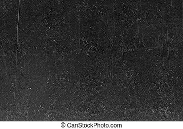 lavagna, /, gesso, nero, lavagna, vuoto, tracce, texture.,...