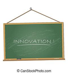 lavagna, illustrazione, innovazione