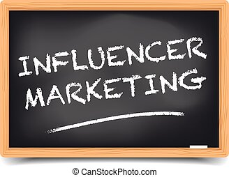 lavagna, influencer, marketing