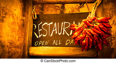 lavagna, italiano, ristorante