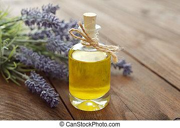 lavande, huile essentielle