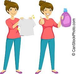 lavanderia, limpo