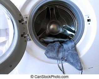 lavando, delicado
