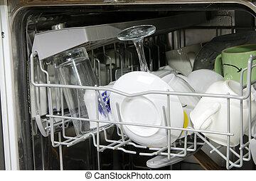 lavapiatti, piatti sporchi