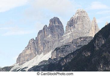 Lavaredo mountain
