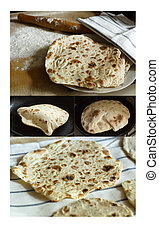 Lavash (traditional armenian flatbread)