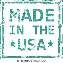 lavede, frimærke, united states