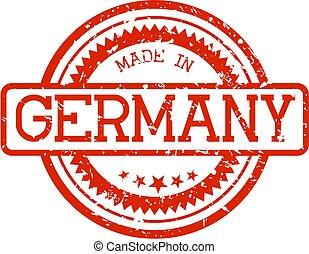 lavede, gummi stæmpl, tyskland