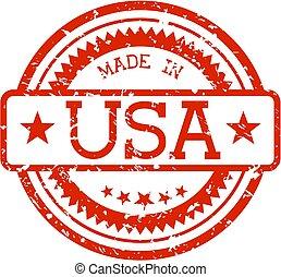 lavede, gummi stæmpl, united states