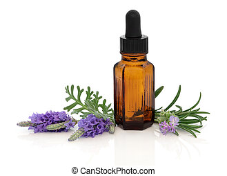 Lavender and Rosemary Herb Essence - Lavender and rosemary...