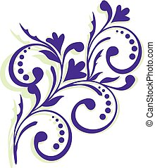 Lavender flowers logo