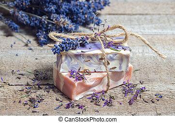 Lavender handmade soap