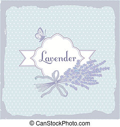 Lavender, herb, flower, floral vintage, background