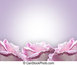 Lavender roses - Image and illustration composition of...