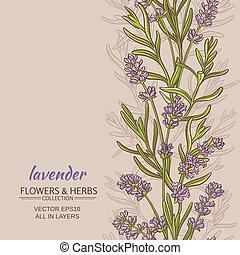 lavender vector background