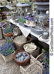 lavender village shop  - spring village shop with lavender