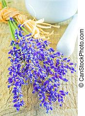 lavender with sea salt