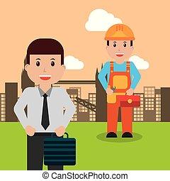 lavorante, professione, persone