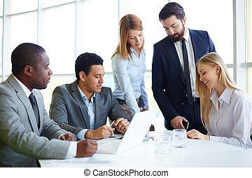 lavorativo, riunione