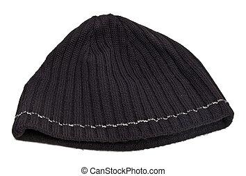lavorato maglia, cappello lana