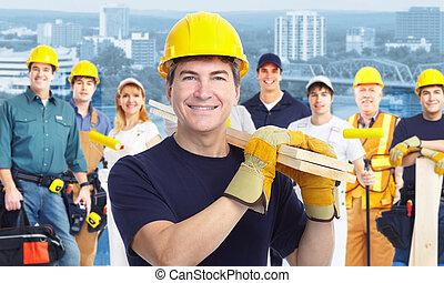 lavoratore, carpenter.