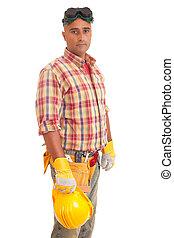 lavoratore costruzione
