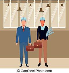 lavori, occupazioni