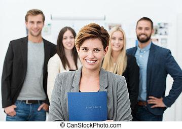 lavoro, gruppo, candidati