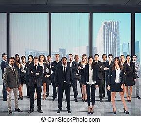 lavoro, persone affari