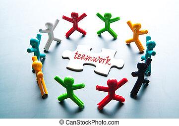 lavoro squadra, problema risolve