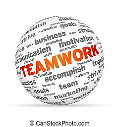 lavoro squadra, sfera